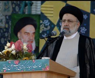 سخنرانی سید ابراهیم رئیسی در جمع زائران حرم مطهر رضوی